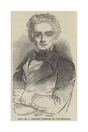 Lieutenant-Colonel T Perronet Thompson Giclee Print
