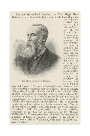 The Honourable Hugh Muir Nelson Giclee Print
