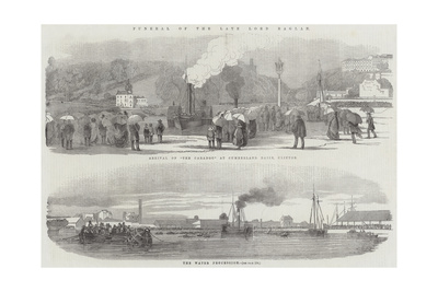 Funeral of the Late Lord Raglan Giclee Print