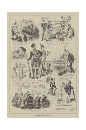 A Little Sport in Belgium Giclee Print
