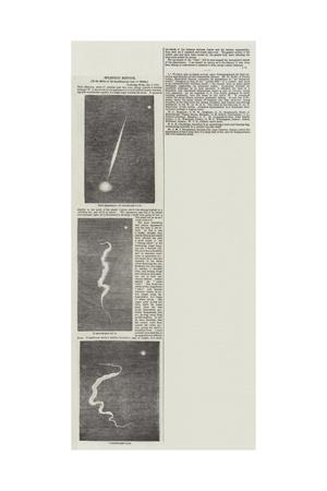Splendid Meteor Giclee Print