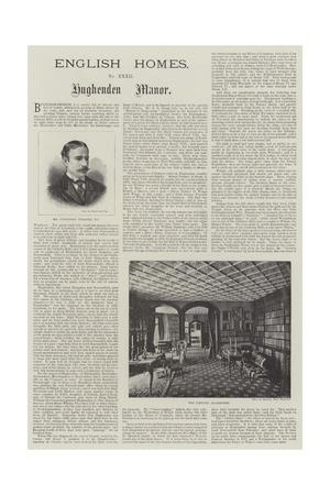 Hughenden Manor Giclee Print
