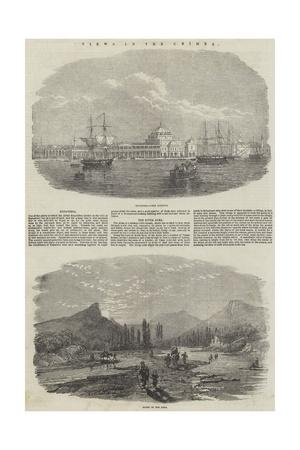 View in the Crimea Giclee Print
