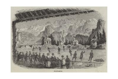 Glaciarium Giclee Print