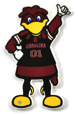 South Carolina Gamecocks Cocky Steel Magnet Magnet