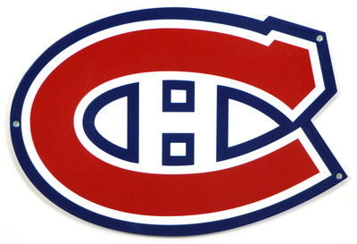 Montreal Canadiens Lasercut Steel Logo Sign Wall Sign