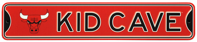 Chicago Bulls Steel Kid Cave Sign Wall Sign