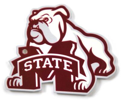 Mississippi State Bulldogs Dog Over M Steel Magnet Magnet