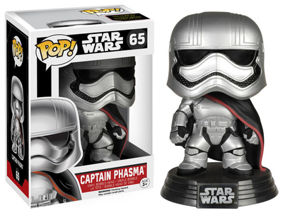 Adorable Star Wars Episode 7 VII Captain Phasma POP figure figurine vinyl bobblehead gift merchandise