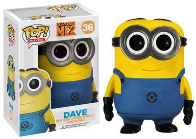 Despicable Me - Dave POP Figure Toy