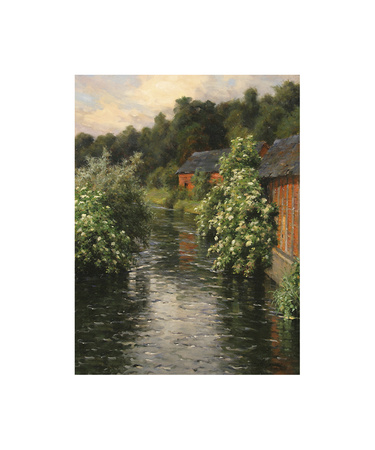 The Mill Stream Premium Giclee Print by Louis Aston Knight