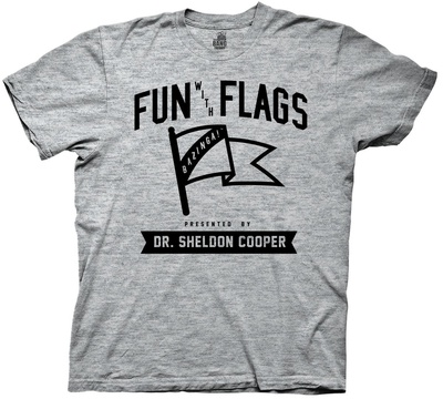 Big Bang Theory- Fun With Flags Shirts