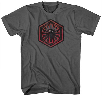 Star Wars The Force Awakens- The New Fear T-Shirt