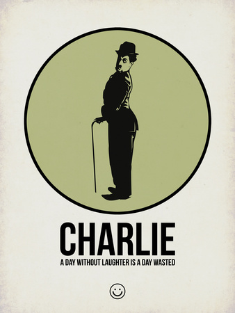 Charlie 1 Plastic Sign by Aron Stein