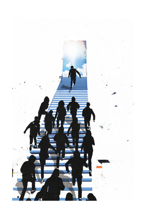 Stairway to Heaven Prints by Alex Cherry