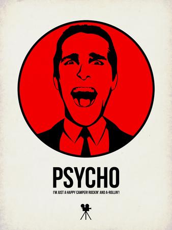 Psycho 2 Plastikskilt af Aron Stein