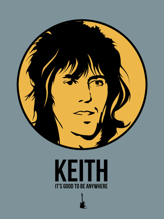 Keith Plastic Sign by Aron Stein