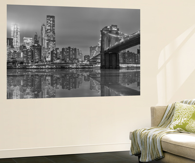 The Bridge Ny Wall Mural by Marco Carmassi