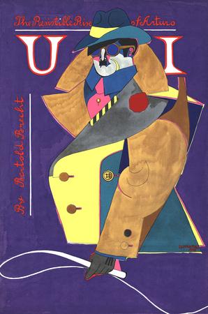 The Resisitible Rise of Arturo Ui Serigrafiprint (silkscreentryck) av Richard Lindner