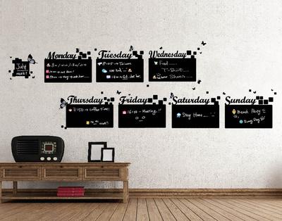 Home Diary Chalkboard Vinilo decorativo