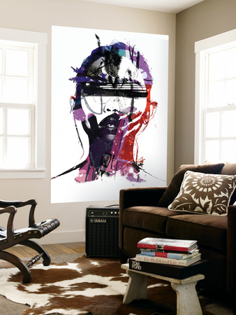 Ultraviolet Wall Mural by Alex Cherry