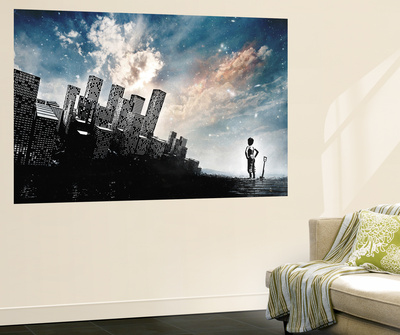 Take a Look Around Wall Mural by Alex Cherry