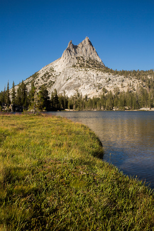 Cathedral Peak in Tuolumne Meadows Photographic Print by Ben Horton