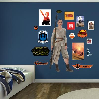 Star Wars: Episode VII - Rey Wall Decal