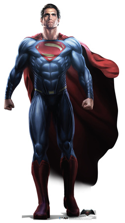 Superman - Batman v Superman: Dawn Of Justice Lifesize Standup Cardboard Cutouts