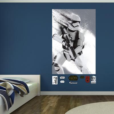 Star Wars: Episode VII The Force Awakens Stormtrooper Blast Mural Wall Mural