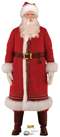 Santa - The Polar Express Lifesize Standup Cardboard Cutouts