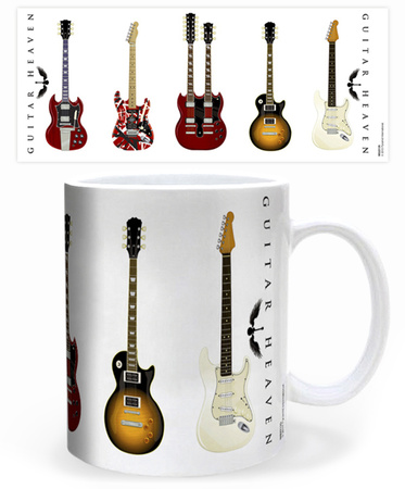 Guitar Heaven music coffee mug