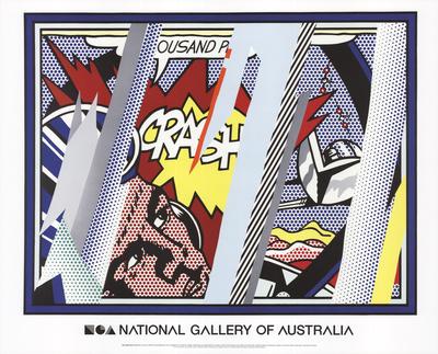 Reflections on Crash Art by Roy Lichtenstein