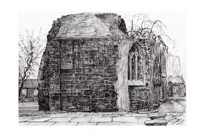 Blackfrierschapel, St. Andrews, 2007 Giclee Print by Vincent Alexander Booth