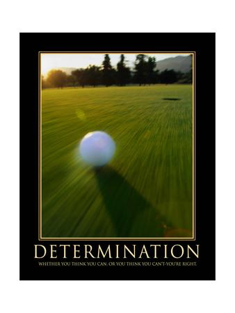 Determination Art by Eric Yang