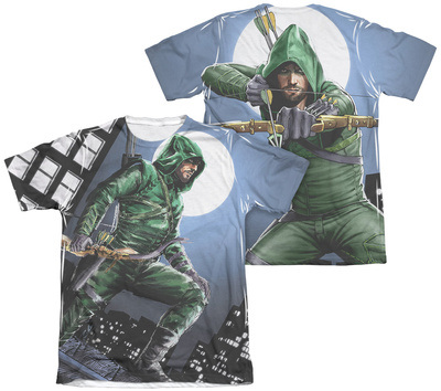 Arrow – Night Watch (Front – Back Print) T-Shirt