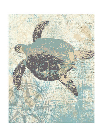 Sea Turtles II Art by Piper Ballantyne