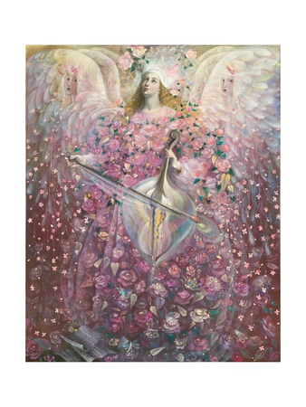 The Angel of Love, 2010 Giclee Print by Annael Anelia Pavlova