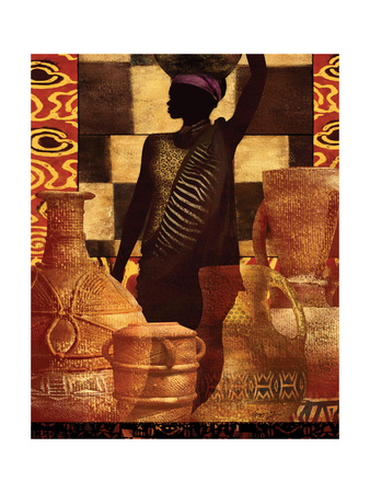 African Traditions II Posters by Eric Yang