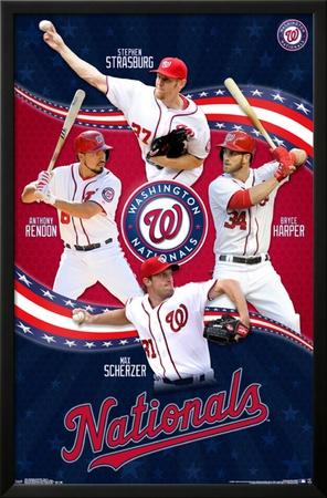 Washington Nationals - Team 15 Posters