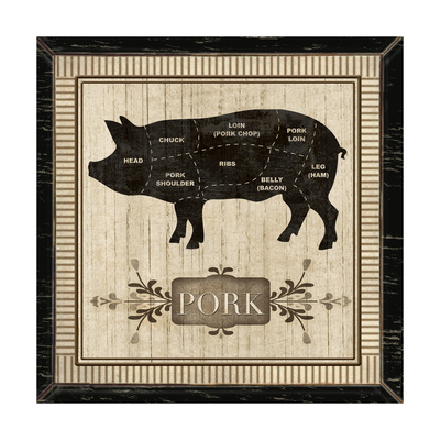 Pork Print by Piper Ballantyne