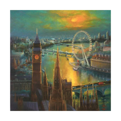 Waterloo Sunrise, 2015 Giclee Print by Lee Campbell