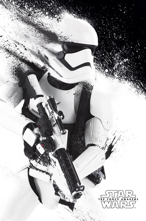 Star Wars- Stormtrooper Paint Stampe
