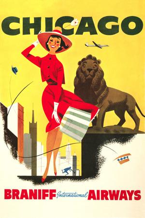 Vintage Destination I Posters by  Piddix