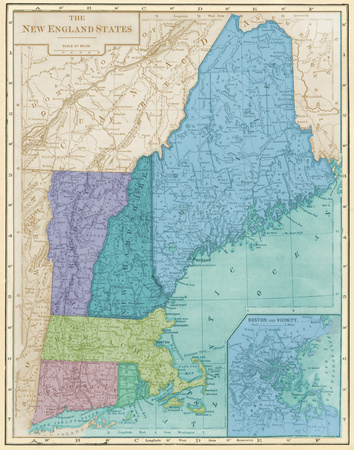 Eastern States I Prints by  Piddix