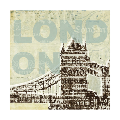 Trendy London Prints by Melissa Pluch
