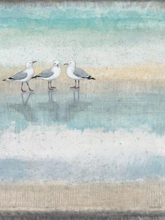 Sea Glass Shore 1 Print by Norman Wyatt Jr.