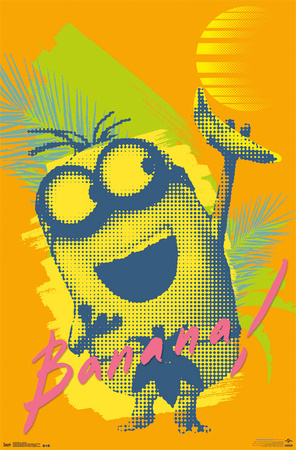 Minions - Banana Posters