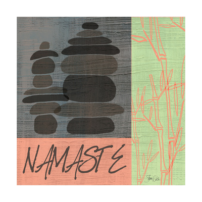 Namaste Posters by Shanni Welsh