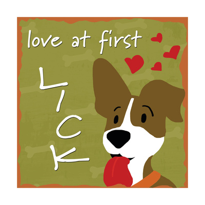 Love at First Lick Prints by Anna Quach